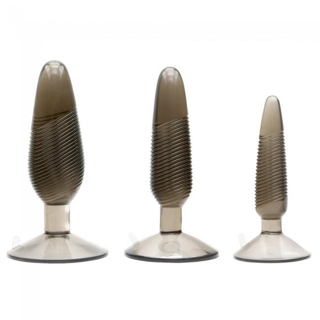 Набор анальных пробок Twisted Smoke Butt Plug Set