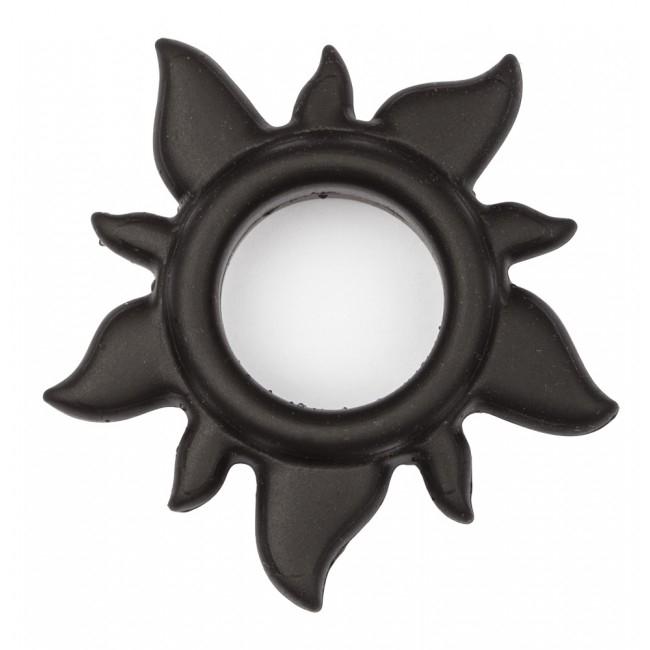 Эрекционное кольцо Playsun Ring, черное