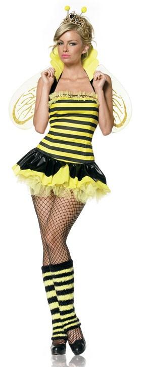 Костюм Королева Пчел BUMBLE BEE S-M