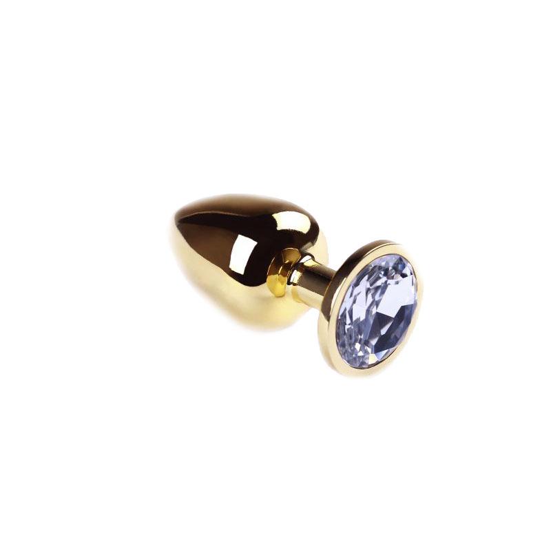Анальная пробка Gold Diamond, L