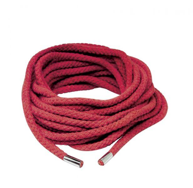 Шнур для бандажа JAPANESE SILK ROPE, красный