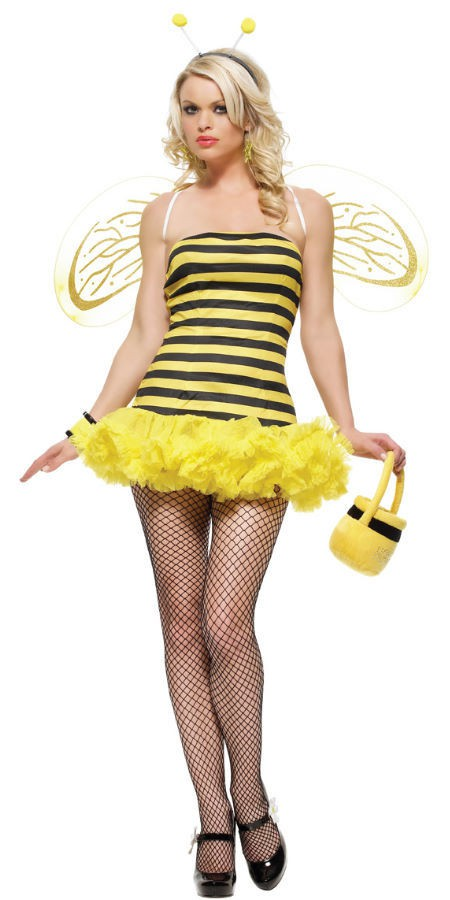 Костюм Пчелки RUFFLED BUMBLE BEE TUBE M-L