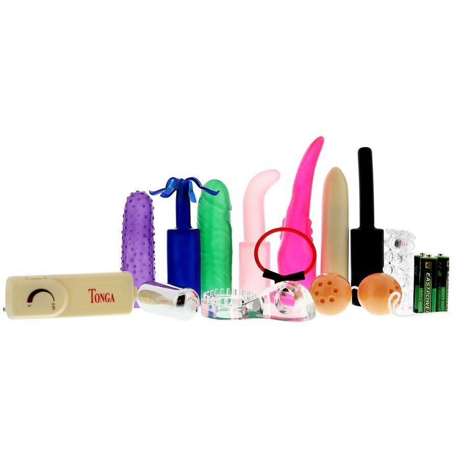 Набор для секса The Sexy Toy Kit, разноцветный