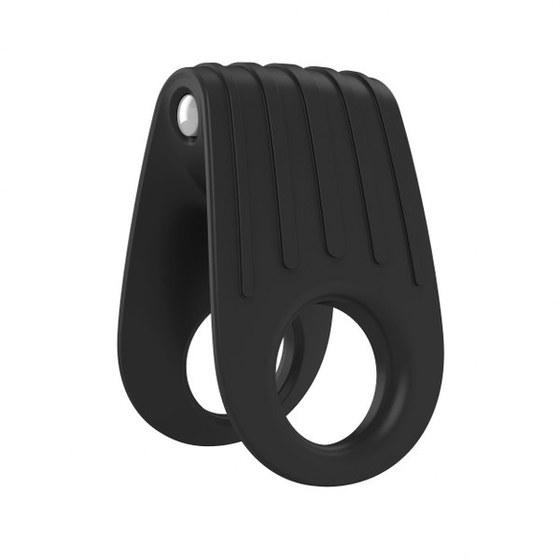 Вибрирующее кольцо OVO B12 Vibrating Ring, черное