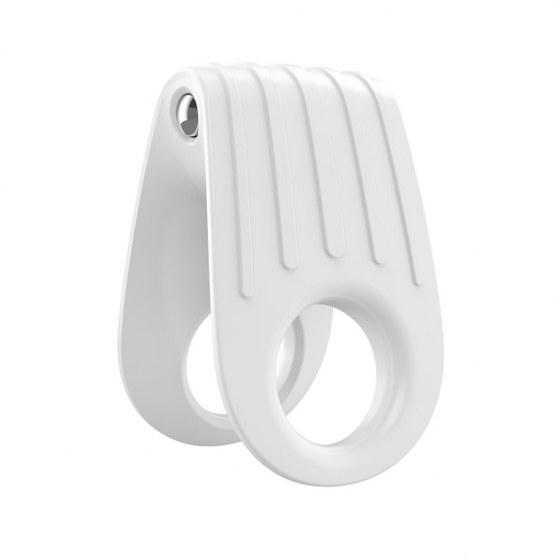 Вибрирующее кольцо OVO B12 Vibrating Ring, белое