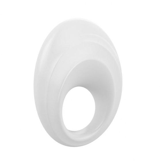 Вибрирующее кольцо OVO B5 Vibrating Ring, белое
