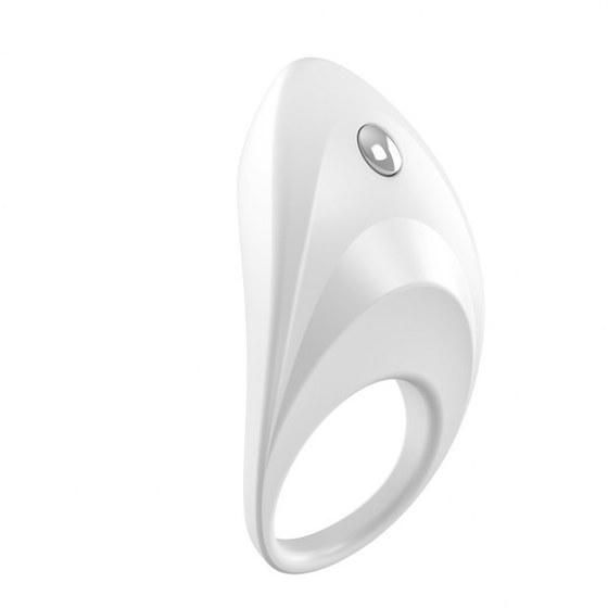 Вибрирующее кольцо OVO B7 Vibrating Ring, белое