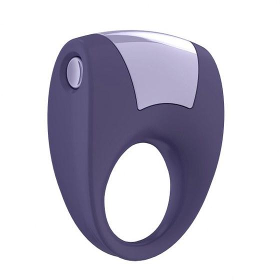 Вибрирующее кольцо OVO B8 Vibrating Ring Cool, сиреневый