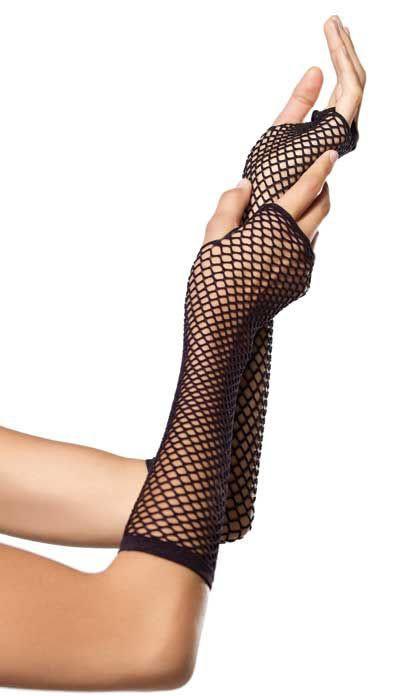 Перчатки TRIANGLE NET FINGERLESS GLOVES BLACK O-S