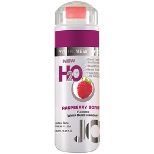 Лубрикант JO H2O LUBRICANT RASPBERRY SORBET со вкусом малины, 150 мл