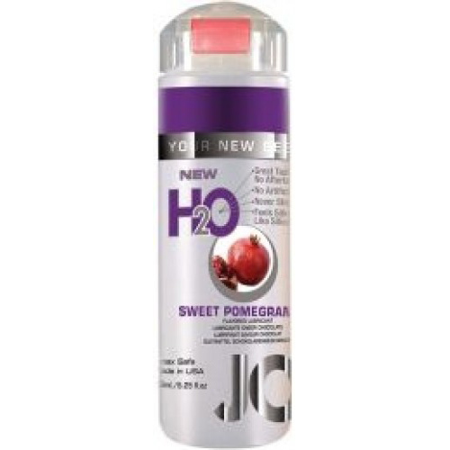 Съедобный лубрикант JO H2O LUBRICANT SWEET POMMEGRANATE со вкусом граната, 150мл