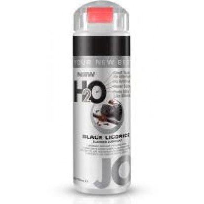 Съедобный лубрикант JO H2O LUBRICANT BLACK LICORICE со вкусом черной лакрицы, 150 мл
