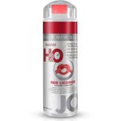 Съедобный лубрикант JO H2O LUBRICANT RED LICORICE со вкусом красной лакрицы, 150мл