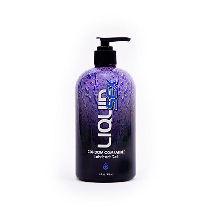 Лубрикант на водной основе Liquid Sex Lubrificante Condom Compatible, 473 мл