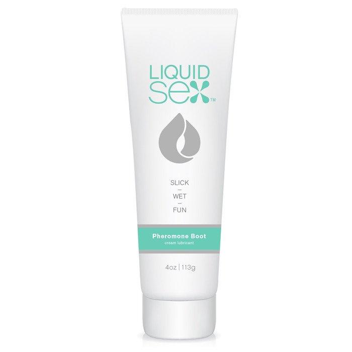 Массажный крем с феромонами Liquid Sex Pheromone Boost Cream Lube, 113 грамм