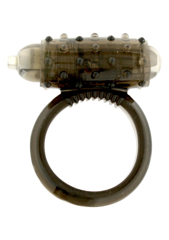 Эрекционное кольцо с вибрацией MINI VIBRATING COCKRING BLACK