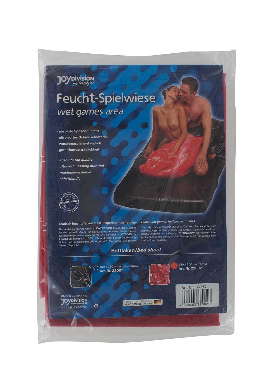 Непромокаемая простынь Sexmax Bedsheet Black 180x260