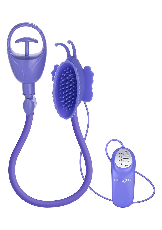 Вибропомпа для клитора Butterfly Clitoral Pump Purple