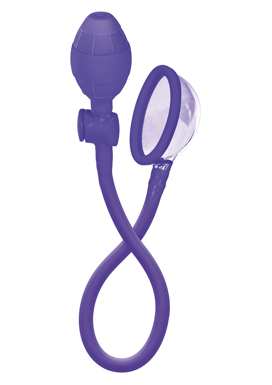Маленькая помпа для клитора Mini Clitoral Pump, пурпурная