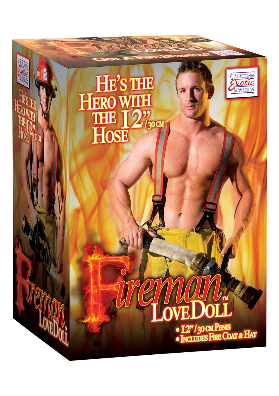 Секс кукла Fireman Love Doll