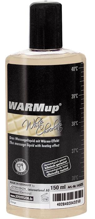 Смазка для орального секса, массажное масло WARMUP WEITE SCHOKOLADE 150ML