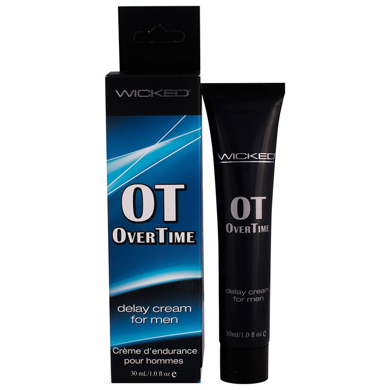 Пролонгирующий крем Overtime Delay Cream, 30 мл