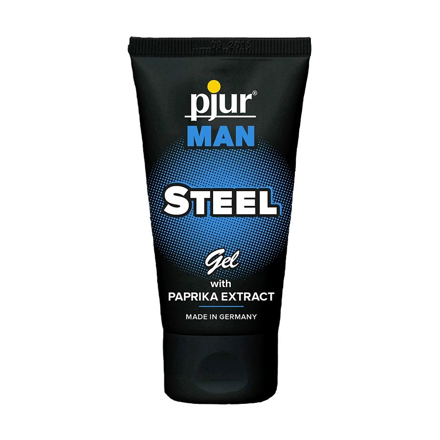 Возбуждающий гель для массажа Pjur Man Steel Ge, 50 мл