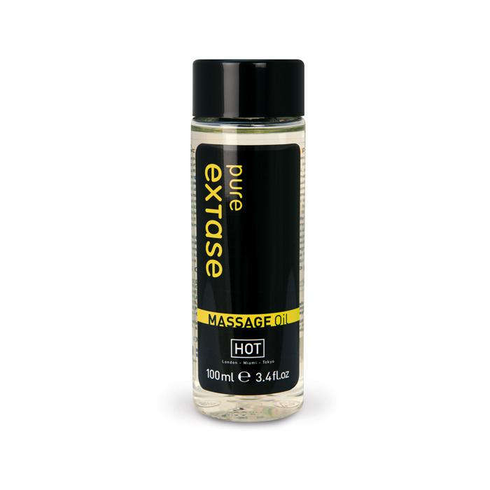 Массажное масло с ароматом трав Hot Pure Extase, 100 мл