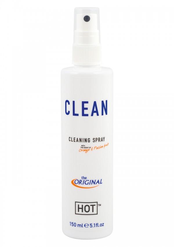 Очиститель секс игрушек HOT CLEAN 150 ML