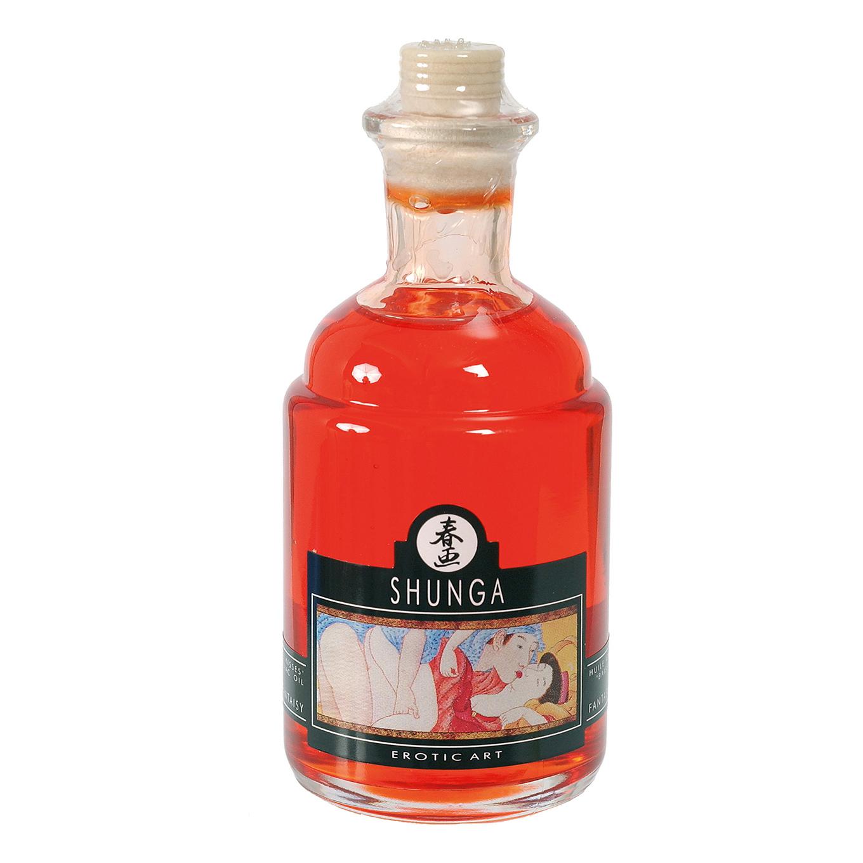 Возбуждающее массажное масло Shunga, апельсин