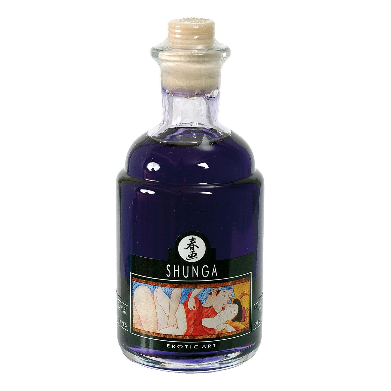 Возбуждающее массажное масло Shunga, виноград