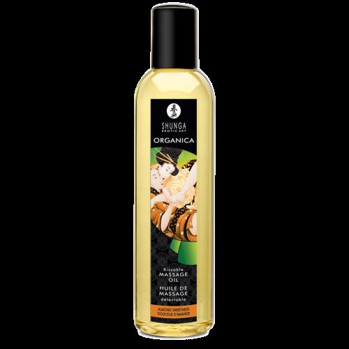 Органическое массажное масло Shunga Massage Oil Organic, миндаль