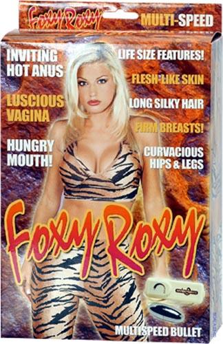 Секс кукла с вибрацией FOXY ROXY LOVE DOLL