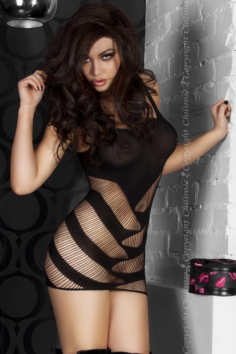Черное платье Mini Dress, размер S/M