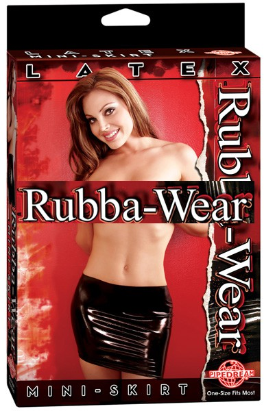 Мини юбка латексная RUBBA-WEAR MINI SKIRT