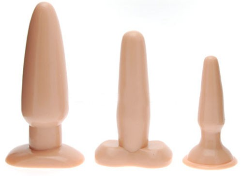Набор анальных пробок VANILLA DIP BUTT PLUGS