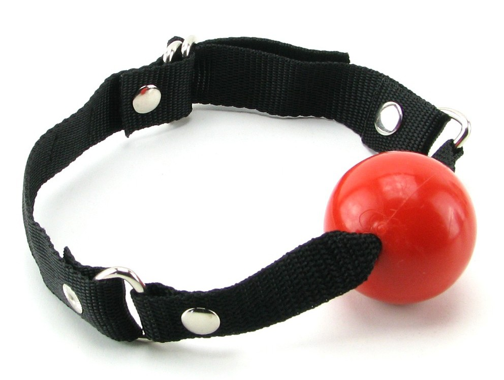 Кляп BEGINNER'S BALL GAG RED