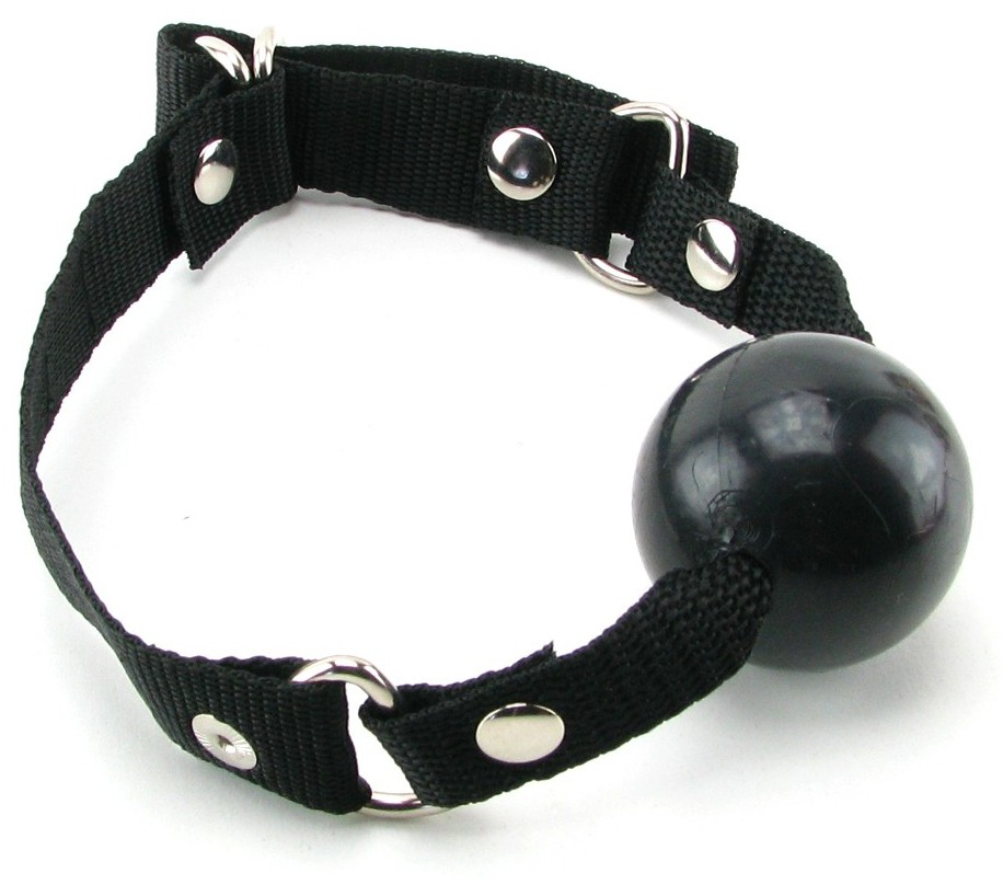 Кляп BEGINNER'S BALL GAG BLACK