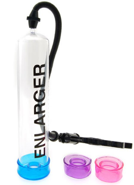 Вакуумная помпа X FACTOR EINLARGER PENIS PUMP CLEAR