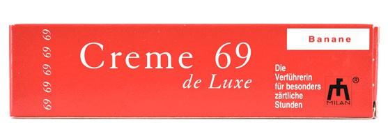 Крем для оральных ласк CREME 69 DE LUXE BANANA