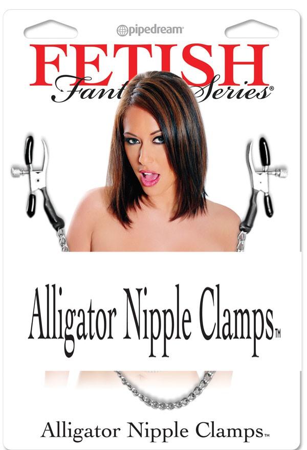 Зажимы для сосков ALLIGATOR NIPPLE CLAMPS
