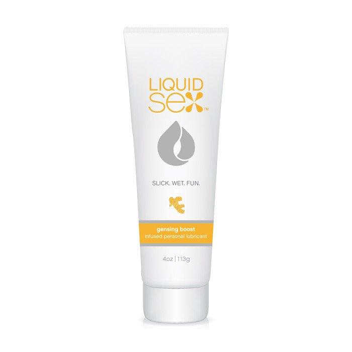 Возбуждающий лубрикант Liquid Sex- Ginseng Boost, 118 мл