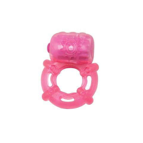 Эрекционное кольцо с вибрацией Climax Juicy Rings, Pink
