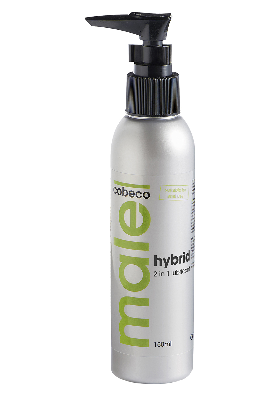 Лубрикант на гибридной основе 2 в 1 Male Cobeco Hybrid Lube 150 Ml