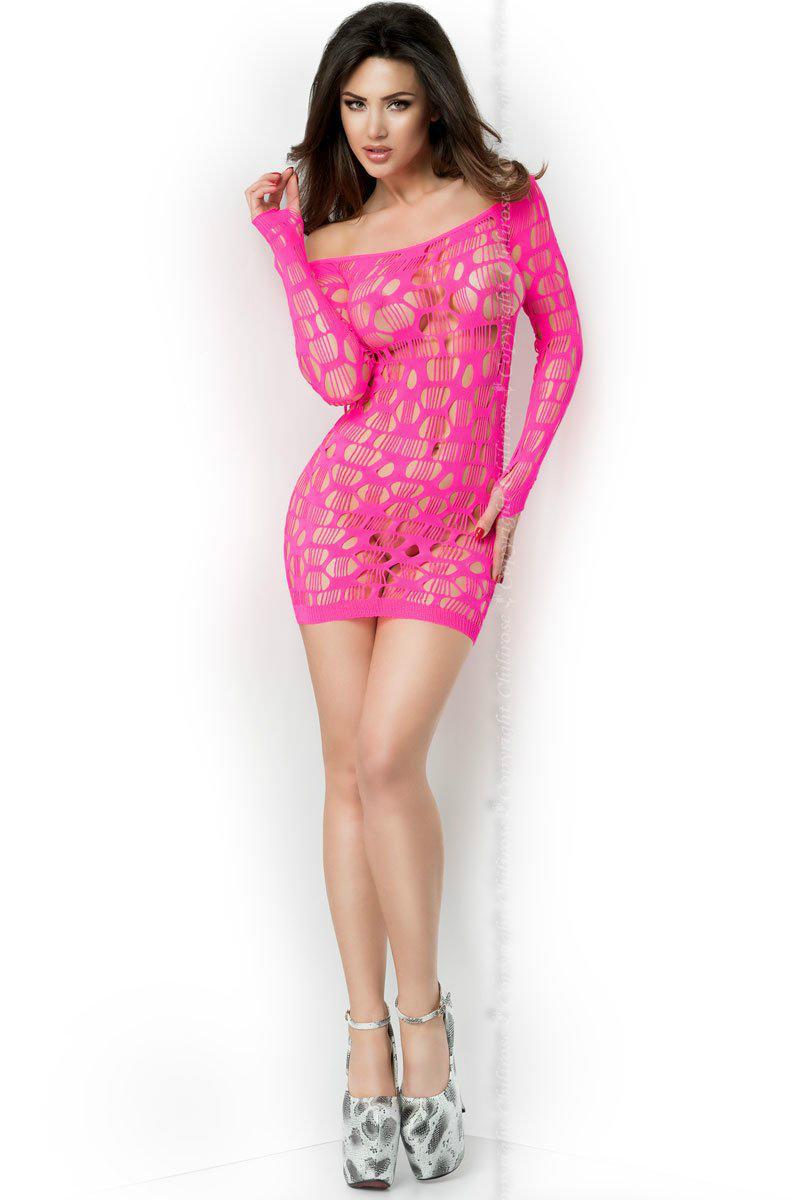 Сексуальное платье Mini Dress S/M PINK