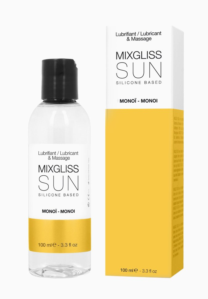Лубрикант на силиконовой основе MixGliss SUN MONOI (100 мл)