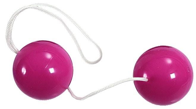 Вагинальные шарики NEON COLOURED ORGASAM BALLS PURPLE