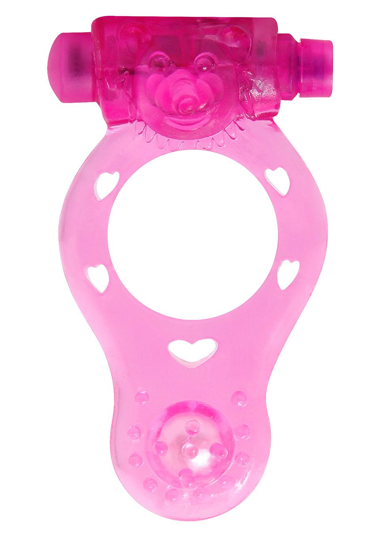 Эрекционное кольцо Power O Vibrating Cock Ring Pink
