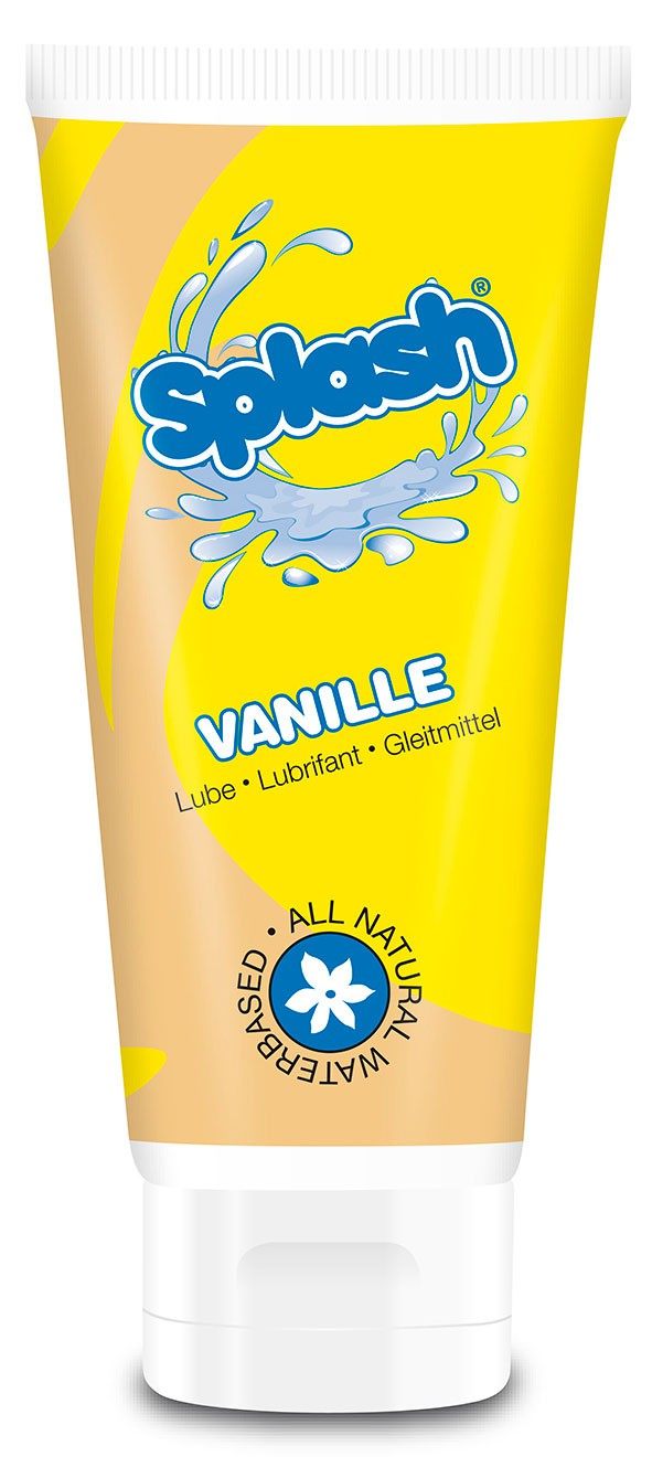 Лубрикант SPLASH VANILLE WATERBASED 100 ML