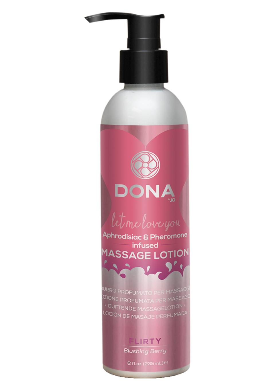 Увлажняющий лосьон для массажа Massage Lotion Blushing Berry 235ml